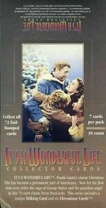 IT'S A WONDERFUL LIFE Sealed WAX BOX CARDS CARD 30 Pack Box DUOCARDS