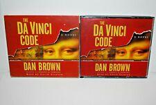 The Da Vinci Code Dan Brown Audio Book Cd