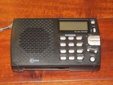 RadioShack 2000658 Digital AM/FM/SW Travel Radio w/ Clock Alarm 30 Presets