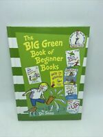 The Big Green Book Of Beginner Books By Dr. Seuss New