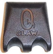 NEW Q-Claw QCLAW Portable Pool/Billiards Cue Stick Holder/Rack- 2-Place Black