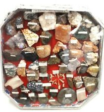 More details for collection of mixed fossils precious rocks gems and minerals inc teeth - t16