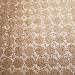 Vintage Crochet Blanket Handmade Cottagecore Full Queen Size Cotton Coverlet