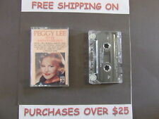 PEGGY LEE FEVER AND OTHER GREATEST HITS CASSETTE