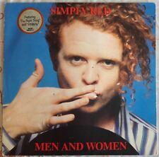 Simply Red, Hommes et Femmes, Vintage album LP 33. VYNIL .10 Inoubliables chansons