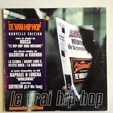 DISQUE 33T - LP LE VRAI HIP HOP NOUVELLE EDITION - ROCCA // POUR DJ OU DECO