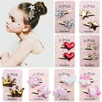 Cute Kids Baby Girls Hairpin Bow Pompom Hair Clip Accessories Barrettes Headwear