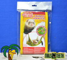 Living World Ferret Hammock ~ Small 35cm x 35cm ~ Fits All Wire Cages