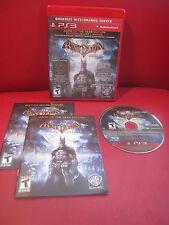 Batman: Arkham Asylum Game of the Year Edition Playstation 3, 2010 Excellent