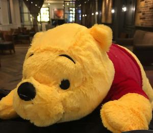 Disney Large Winnie the Pooh Winnie Plush Toy Gift Cushion Pillow 55CM