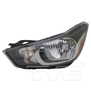 TYC 20-9784-00 Headlight Lamp  Assembly Left Driver Side LH Halogen New