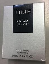 KRIZIA TIME EAU DE TOILETTE UOMO 50 ML. VAPORISATEUR VINTAGE RARO RARE