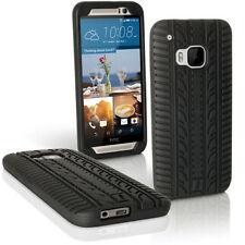 Cover e custodie nero Per HTC One M9 in silicone/gel/gomma per cellulari e palmari