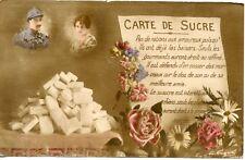 CARTE POSTALE PATRIOTIQUE // CARTE DE SUCRE