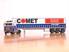 """DCP #34198 """"Comet"""" Kenworth K100 COE Tautliner Tri-Axle Trailer 1:64"""