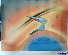 RARE AFFICHE UNICEF FOLON // 50 X 60