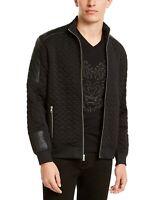 INC International Concepts Men's Knit Spout Jacket Size XL Black