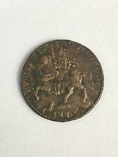 Early Antique World Coin 1690 Crown James II Gun Money Rebellion Irish Ireland