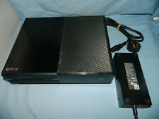 Microsoft XBox One console + power supply unit only, TESTED & WORKING