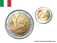 2 Euros Commémorative Italie 2006 Jeux Olympiques Turin UNC