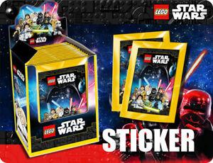 Blue Ocean  Lego Star Wars Sticker Serie 50 Tüten / 250 Sticker