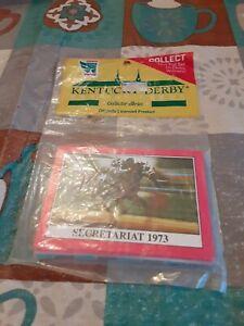 Kentucky Derby Jockey Trading Cards Secretariat Collector series Sealed