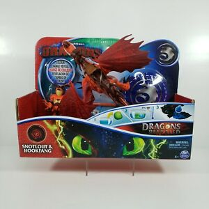 Dreamworks How to Train Your Dragon Dragons and Vikings Hookfang Snotlout