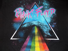 Pink Floyd Official Licensed T Shirt Dark Side of the Moon Size Small Black