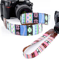 DSLR Camera Shoulder Strap Neck Strap Belt Wrist Hand Grip For Canon Nikon Sony