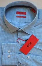 NWT HUGO (Hugo Boss Red Label) Sharp Fit Check Pattern Dress Shirt Size 16 32/33