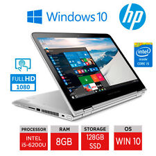 "HP PAVILION X360-13-s150sa 13.3""Touch FULLHD I5 8GB 128GB SSD Win10 WARRANTY"