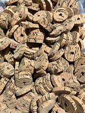 "Cork Rings 100 Wave Burl  #2, 1 1/4"" x 1/4"" x 1/4"" Hole"