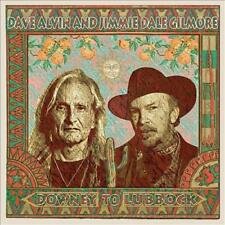 DAVE ALVIN/JIMMIE DALE GILMORE - DOWNEY TO LUBBOCK * NEW CD