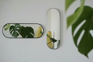 Oval mirror, Small mirror, Hanging wall mirror, Decorative mirror, Framed Mirror