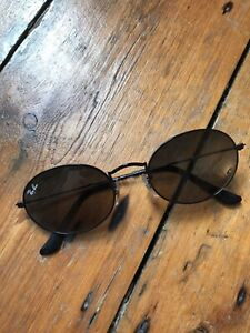Ray-Ban Oval Flat Lenses Black Sunglasses RB 3547N 002/71