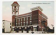 Endicott,New York,Central Fire Station,Broome County,c.1909