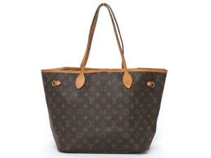 LOUIS VUITTON Neverfull MM Monogram Tote Bag Shoulder M40995