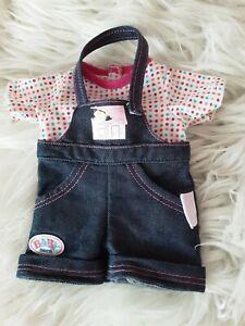 Baby Born Einteiler für 36 cm Baby Born  my Little Puppen