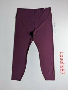 $90 Nike Women's Yoga Luxe 7/8 Leggings Plus Size 1X Waist 33 NWT