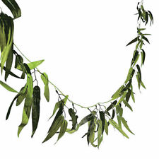 Bamboo Leaf Garland 9ft Tropical Luau Hawaiian Beach Party Decorations