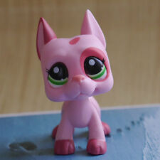 "Nice Lps Shop Mini 2"" Figure Toy Pink Great Dane dog #2598"