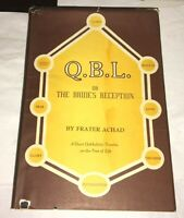 Q. B. L Short Cabalistic Treatise on Tree of Life 1974 Occult Aleister Crowley