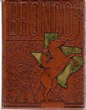 Hardin Simmons University Abilene Texas 1939 Bronco Yearbook Annual College