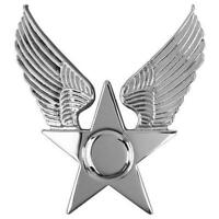 USAF Air Force Honor Guard Hat Emblem  Enlisted  (Made in USA)