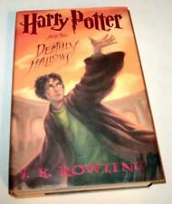 1ST EDITION! Harry Potter and the Deathly Hallows by J. K. Rowling (2007, HC)