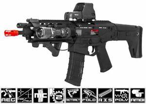 A&K Magpul Masada ACR RIS Carbine AEG Airsoft Rifle (Black) 19587