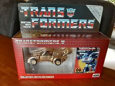 Transformers G1 E-hobby collectors edition Gold Jazz MIB Boxed