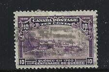Canada Scott #101, Single 1908 FVF Used
