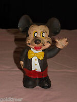 VINTAGE OLD CAST IRON  MICKEY MOUSE BANK