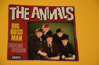 "ANIMALS 7"" 45 (NO LP ) BIG BOSS MAN 1°ST ITALY 1966 SOLO COPERTINA"